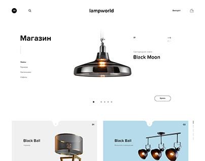 Online store page UI // страница сайта