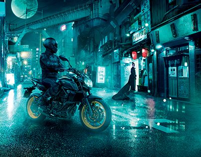 Yamaha MT-07 | Dark Attraction