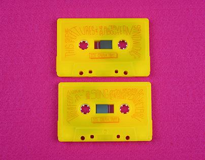 Cassette Tape-Label Design-Ice Cream Treat