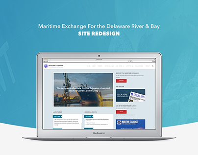 UX Design Process - Maritime Exchange