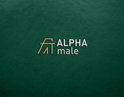 ALPHAmale (LOGO&VISUAL IDENTITY)
