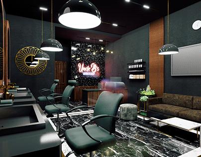 Barbershop Concept Design
