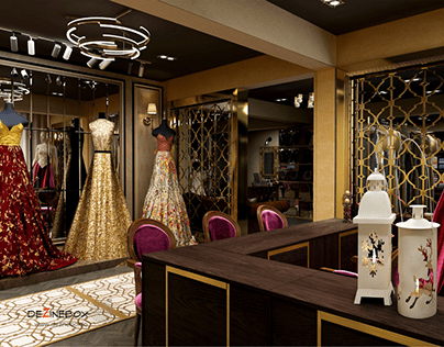 Showroom & salon Designs