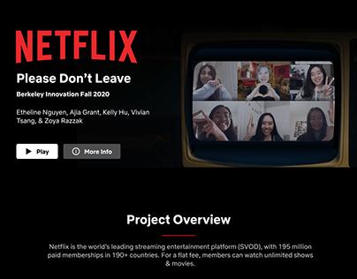 Netflix Fall 2020