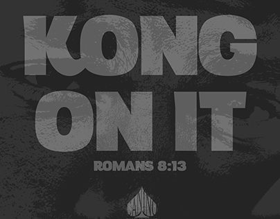 Kong On It - Single Cover Design
