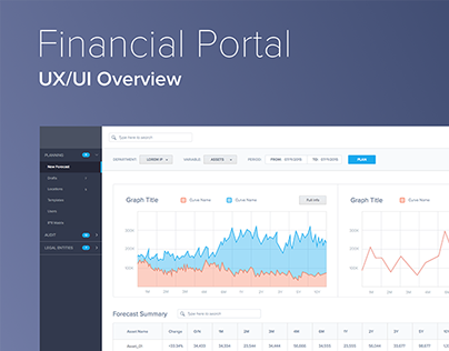 Financial Portal: UX/UI Overview