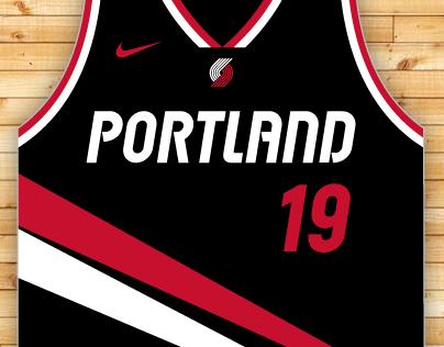 Portland Trail Blazers Redesign