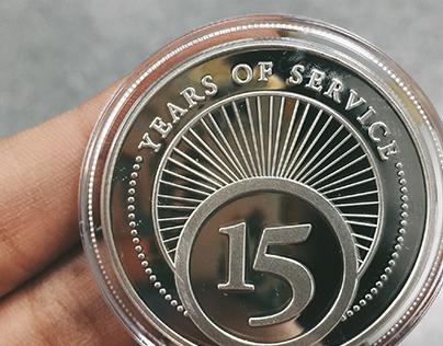 Service Award Coin