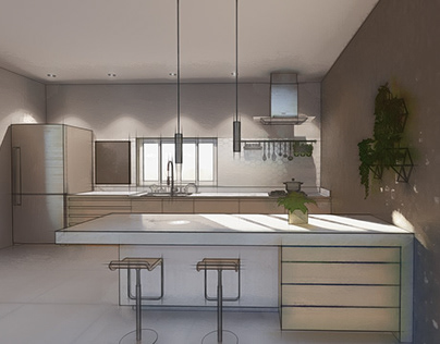 KITCHEN | COOL AND FRESH