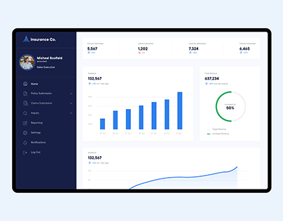 Insurance Policy System- UX/UI Case Study
