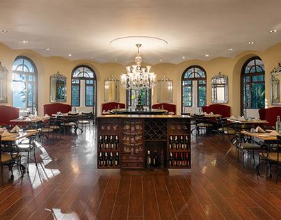 Restaurant Interior - Royal Orchid Brindavan Garden