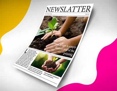 Company News latter design
