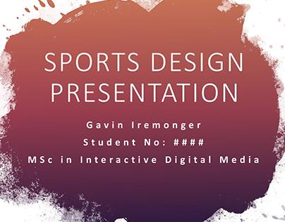 Visual Communication Presentation Deck | Part of MSc