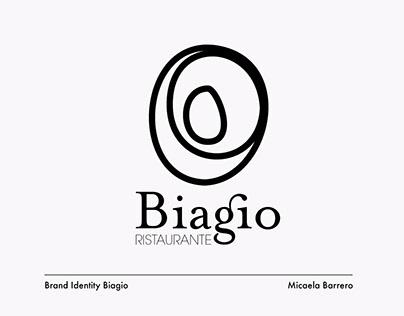 Biagio Restaurant | Brand Identity