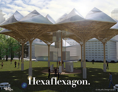 Hexaflexagon   Exhibition Design UAL Chelsea 2015