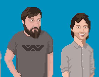 Spherical Elephant pixel team
