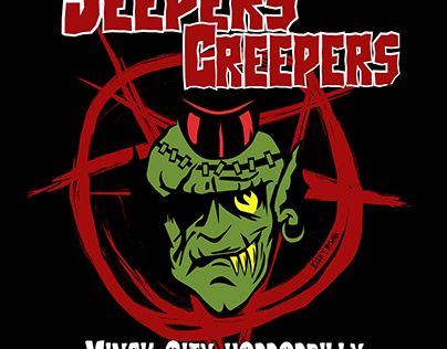 Jeepers Creepers band from Minsk, Belarus. Horrorbilly