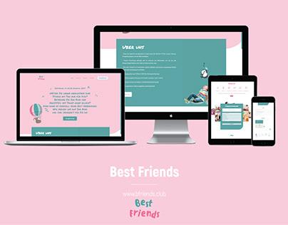 Web Design & Development - Bfriends.club | Website
