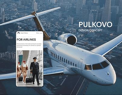 Pulkovo — New Website