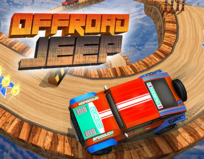 Offroad Jeep Driving Game (screen shots)