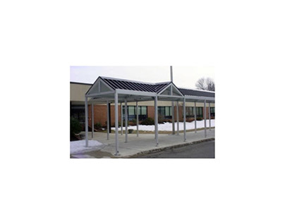 Metal Awnings for Commercial Buildings
