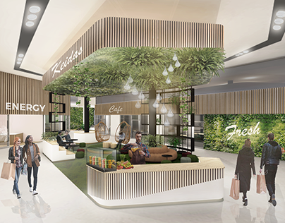 Wellbeing Retail Space Concept