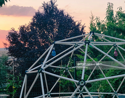 A 2V GEODESIC SILO DOME CINEMATIC PHOTOSHOOT