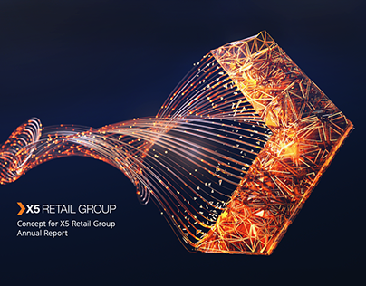 Concept for X5 Retail Group Annual Report in 2018, 2019