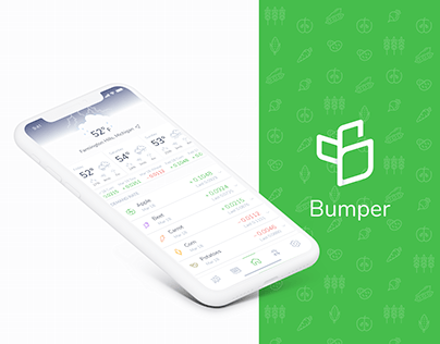 Bumper – UX/UI Design of mobile app for farmers