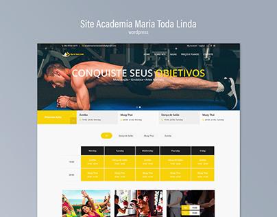 Site - Academia Maria Toda Linda