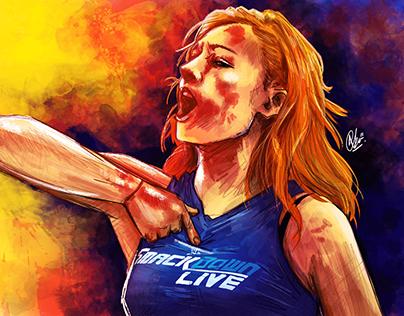 The Man : WWE Becky Lynch