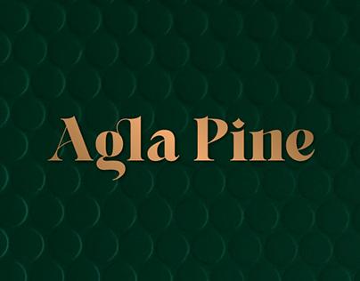 Agla Pine Branding