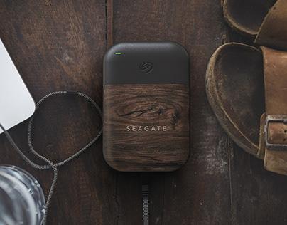 Seagate 1 TB Portable Hard Drive Concept