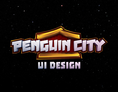 Penguin City UI Design