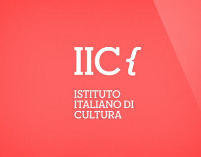 IIC - Istituto Italiano di Cultura Brand Image