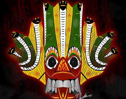 Sri Lanka Traditional Mask