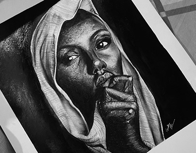 My latest charcoal work