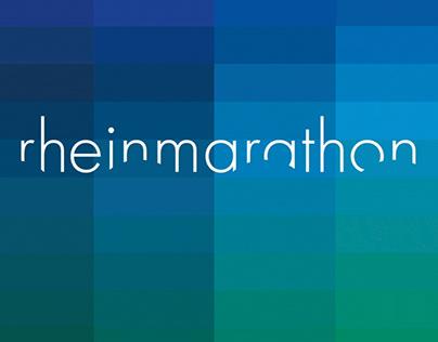 visual identity: rheinmarathon