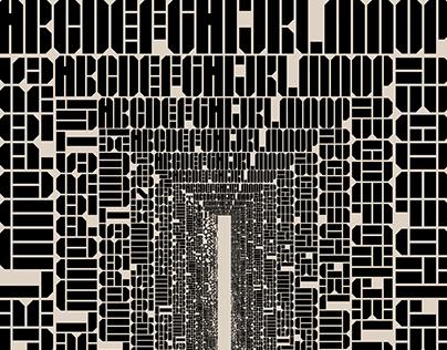 Texel Plus Typeface