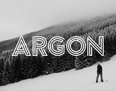 Argon (Free Font)