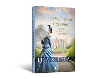 """Cover design of """"Pelo amor de Cassandra"""""""