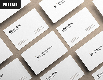 Free Download: Business Card Mockups