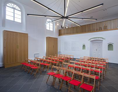 Synagoga Čkyně — H3T architekti