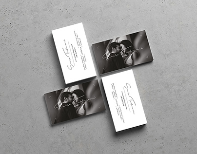 "Business Cards for ""Siniša Trifunović Photography"""