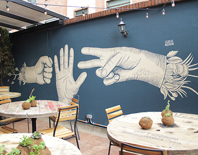 Murales - Selina Chapinero (Bogotá)