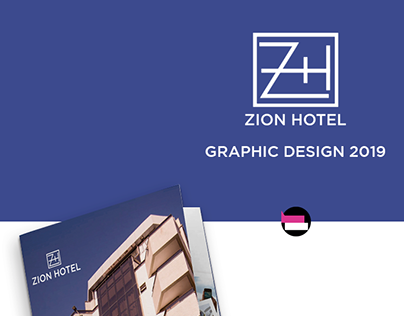 Zion Hotel - Graphic Design