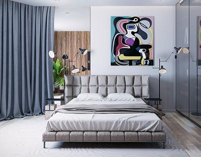 One-bedroom apartment in the Pechersk district of Kiev