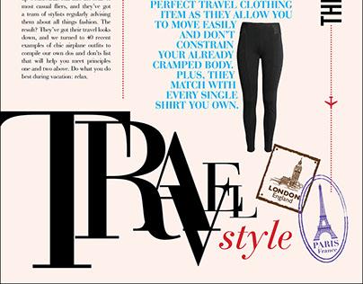 Travel Newsletter Design