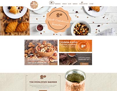 Burcum Kuruyemiş Café Web