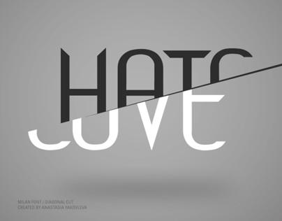 Milan typeface